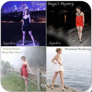 Angelica Sticker - Featuring 4 CD's - angelicasmusic-com