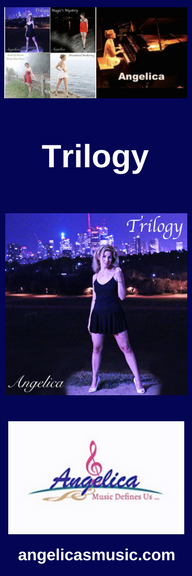 Angelica Bookmark - Featuring CD Artwork - Trilogy - angelicasmusic-com