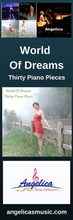 Load image into Gallery viewer, Angelica Bookmark - Featuring CD Artwork - World Of Dreams Thirty Piano Pieces - angelicasmusic-com