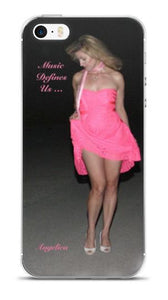 Angelica Pink Dress Cell Phone Case - angelicasmusic-com