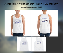 Load image into Gallery viewer, Angelica Tank Top - Jersey Design (Shirt) - angelicasmusic-com