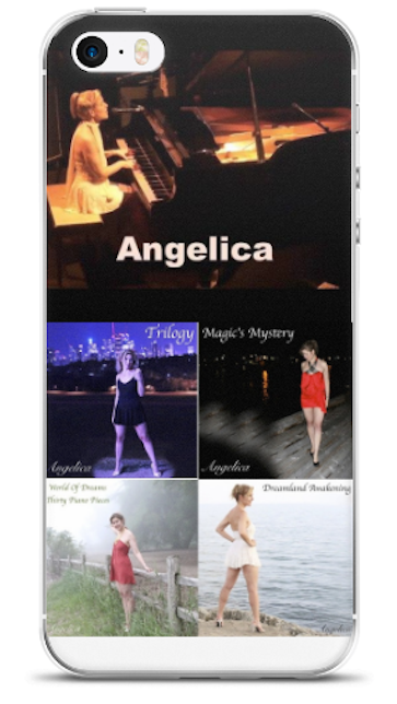 Angelica 4-CD Cell Phone Case - angelicasmusic-com