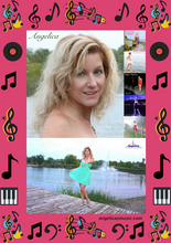 Load image into Gallery viewer, Angelica Photos & 5 CD Poster - angelicasmusic-com