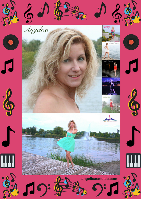 Angelica Photos & 5 CD Poster - angelicasmusic-com