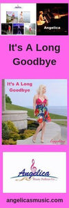 Angelica Bookmark - Featuring The CD Song - It's A Long Goodbye - angelicasmusic-com