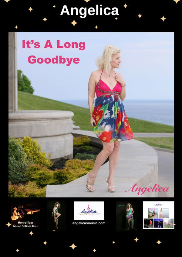 Angelica Poster - It's A Long Goodbye - angelicasmusic-com