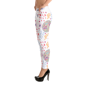 Angelica Music Defines Us Leggings - angelicasmusic-com