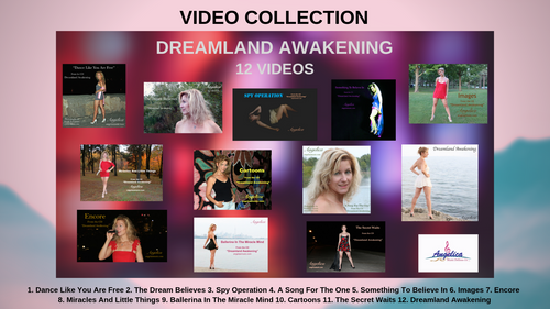 Angelica Video Collection - Dreamland Awakening - Digital Download - angelicasmusic-com