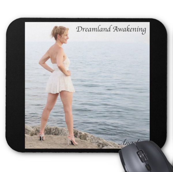 Angelica Mouse Pad - Featuring CD Artwork - Dreamland Awakening (Black) - angelicasmusic-com