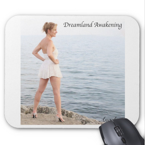Angelica Mouse Pad - Featuring CD Artwork - Dreamland Awakening (White) - angelicasmusic-com