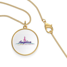 Load image into Gallery viewer, Angelica Single Loop Necklace - Laurel - angelicasmusic-com