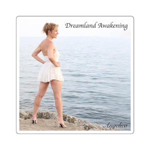 Angelica Square Stickers - Dreamland Awakening - angelicasmusic-com