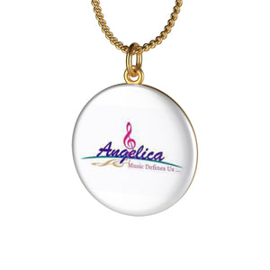 Angelica Single Loop Necklace - angelicasmusic-com