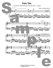 Load image into Gallery viewer, Angelica Sheet Music (Piano Score) - Fairy Tale - angelicasmusic-com