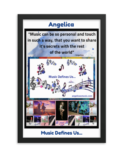Angelica Framed Poster -