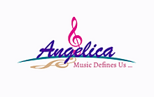 "Load image into Gallery viewer, Angelica Cap - Featuring Angelica In Cartoon & Quote - ""Music Defines Us"""