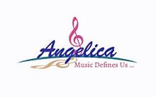 "Load image into Gallery viewer, Angelica Framed Poster - ""Music Defines Us"" - Artwork"