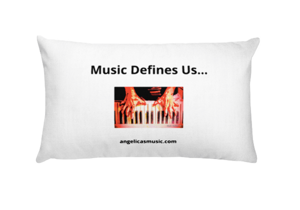 Angelica Pillow - Featuring Crazy Piano Fingers & Quote - angelicasmusic-com