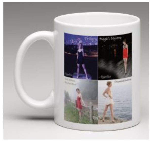 Angelica Coffee Mug - 4 CD Artwork Design - angelicasmusic-com