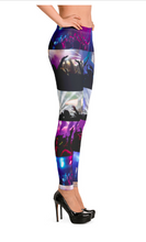 Load image into Gallery viewer, Angelica Leggings - With Dance Theme & Crowd - angelicasmusic-com