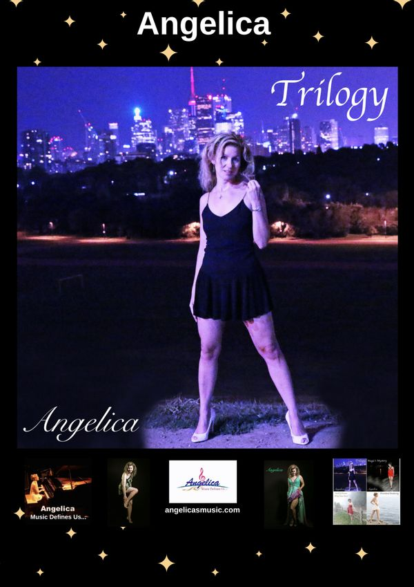 Angelica Poster - Featuring CD Artwork - Trilogy - angelicasmusic-com
