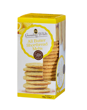 Grandma Wild's All Butter Shortbread Melts Window Box 150g