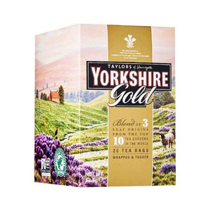 Yorkshire Gold Tea. 20 tea sachets in box