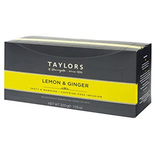 Taylors of Harrogate Lemon and Ginger Infusion Tea Bag 100 Sachets