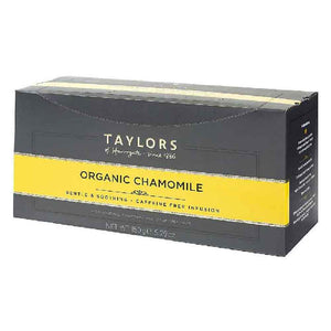 box of 100 enveloped Organic Chamomile Tea Bags