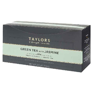 100 pcs enveloped tea bags green tea with jasmine Taylors of Harrogate
