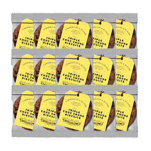 Cartwright & Butler Triple Chocolate Biscuits 100pcs Single Packs