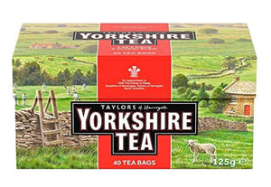 box of classic yorkshire tea 40 tea bags