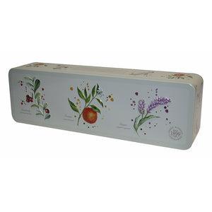 Grandma Wild's Embossed Long Botanical Tin 200g