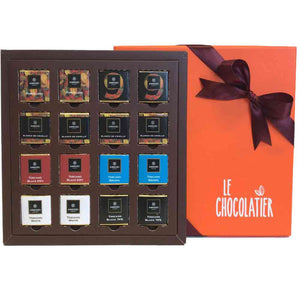 Le Chocolatier Assorted Amedei 16 pcs Napolitains Gift Box
