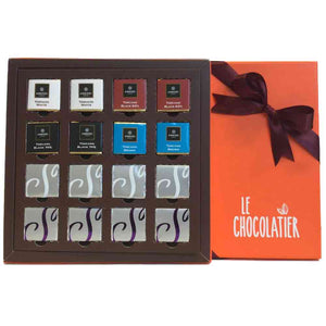 Le Chocolatier Assorted Amedei and Summerdown Mint 16pcs Napolitains Gift Box