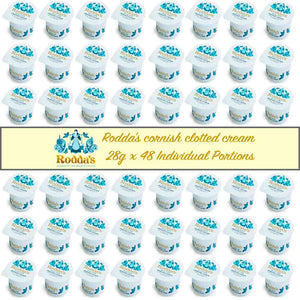 Rodda's Cornish Clotted Cream 28g x 48