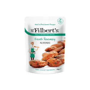 Mr. Filbert's French rosemary almonds made with 100% natural ingredients
