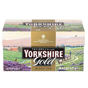 40 Teabags in box. Yorkshire Gold