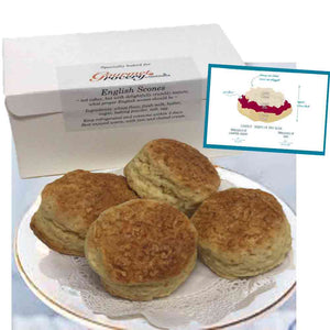 English Scones (box of 4pcs)