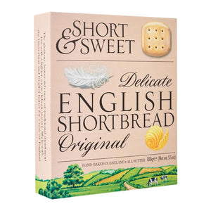 Short % Sweet delicate english shortbread original by Artisan biscuits