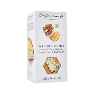 The Fine Cheese Walnut, Honey & Extra Virgin Olive Oil Crackers 125g