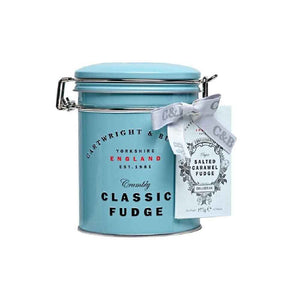 Cartwright and Butler Salted Caramel Fudge Tin 175g