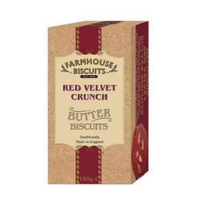 Farmhouse Biscuits Luxury Red Velvet Crunch 150g