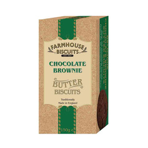 Farmhouse Biscuits Luxury Chocolate Brownie 150g