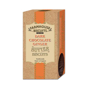 Farmhouse Biscuits Luxury Dark Chocolate Coated Ginger 175g