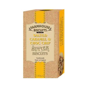 Farmhouse Biscuits Luxury Salted Caramel and Choc Chip 150g