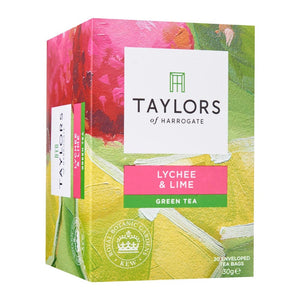 Taylors Of Harrogate Lychee And Lime Green Tea