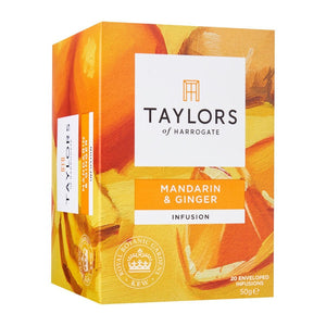 Taylors Of Harrogate Mandarin And Ginger Infusion