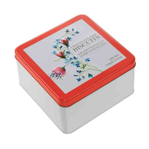 Farmhouse Botanical Floral Chocolate Chip Tin – 225g
