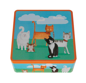 Farmhouse Feline Friends Tin 175g Mini Toffee Bites
